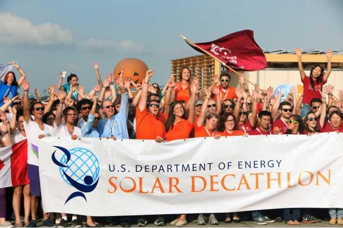 太阳能多功能应用竞赛. 内华达大学能源研究中心排名第二